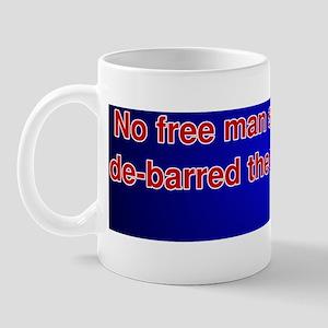 Thomas Jefferson 2nd Amendment Quote Mug