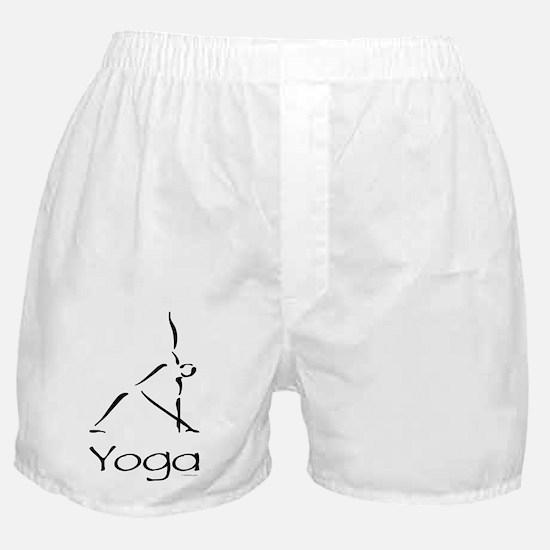 Yoga Pose Boxer Shorts