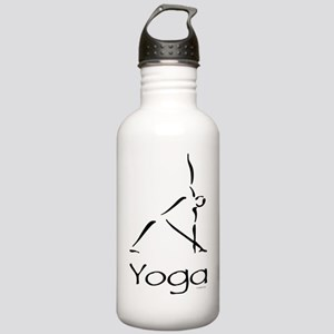 Yoga Pose Stainless Water Bottle 1.0L
