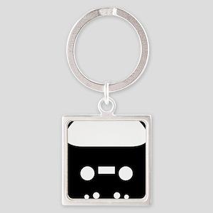 Dan Bull logo Square Keychain