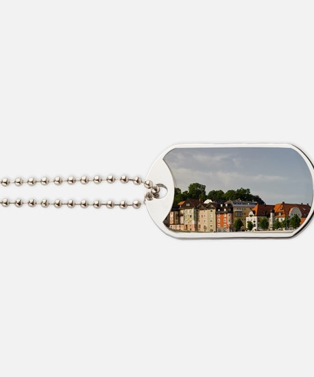 Germany, Bayern-Bavaria, Bad Tolz. Town a Dog Tags