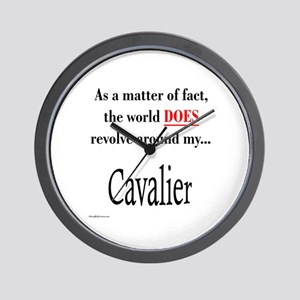 Cavalier World Wall Clock