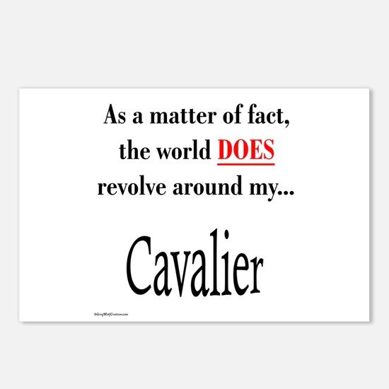 Cavalier World Postcards (Package of 8)