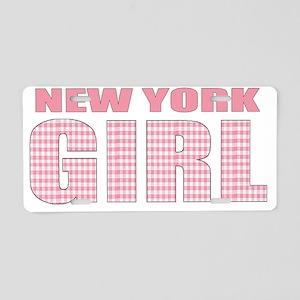 NewYork Aluminum License Plate