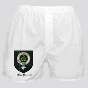 MacKenzie Clan Crest Tartan Boxer Shorts