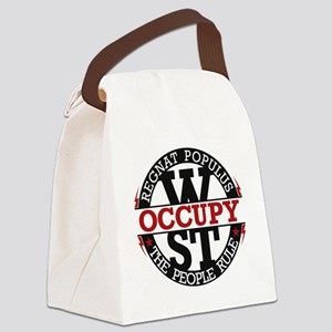 Occupy-CRCL-2 Canvas Lunch Bag