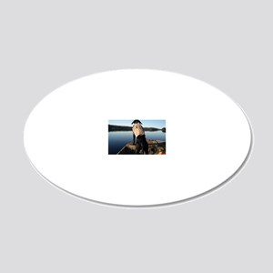 Bobby 2011 20x12 Oval Wall Decal