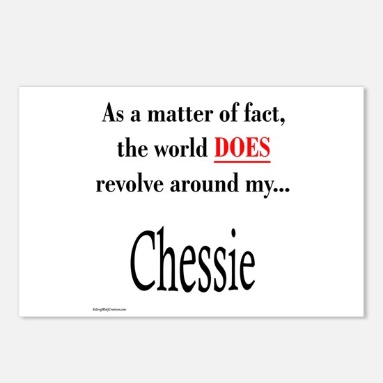 Chessie World Postcards (Package of 8)
