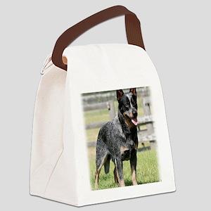 Australian Cattle Dog 9Y749D-017 Canvas Lunch Bag