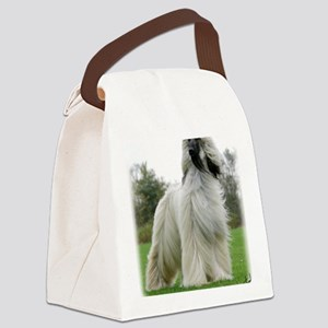 Afghan Hound 9Y247D-025 Canvas Lunch Bag