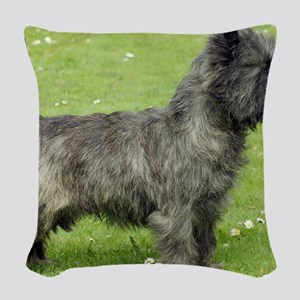 Cairn Terrier 9Y004D-024 Woven Throw Pillow