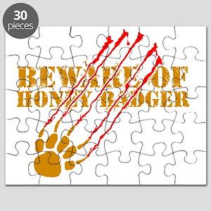 Beware of honey badger Puzzle