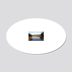 Canada 2011 20x12 Oval Wall Decal