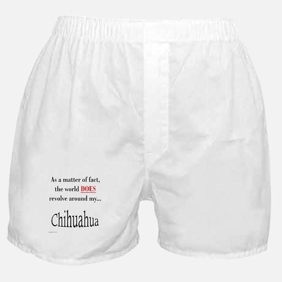 Chihuahuas World Boxer Shorts