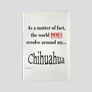 Chihuahuas World Rectangle Magnet
