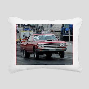 aug Rectangular Canvas Pillow