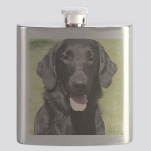 Flat Coated Retriever 9Y040D-040 Flask