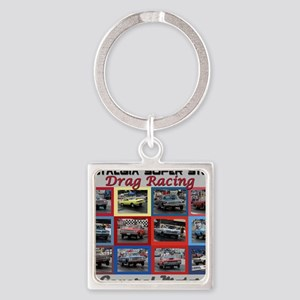 GM-cover Square Keychain