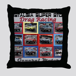 GM-cover Throw Pillow