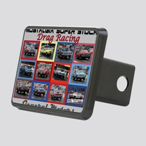 GM-cover Rectangular Hitch Cover