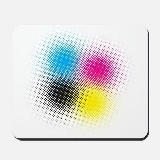 CMYK Mousepad
