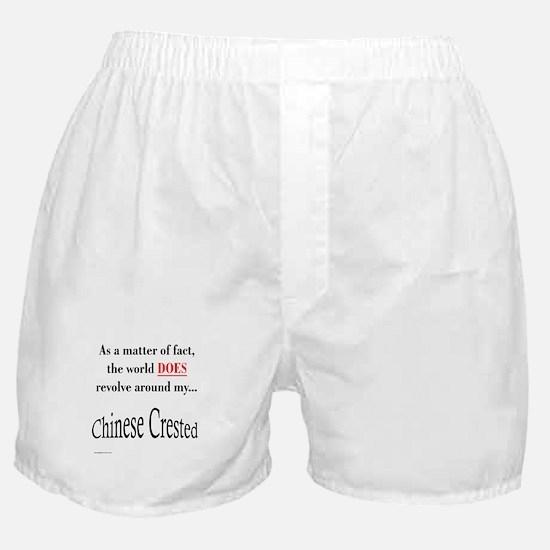 Chinese Crested World Boxer Shorts