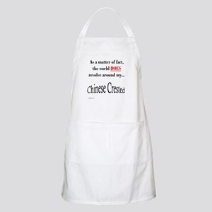 Chinese Crested World BBQ Apron