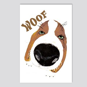 Woof Postcards (Package of 8)