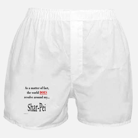 Shar Pei World Boxer Shorts