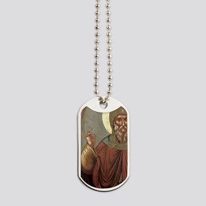 Byzantine icon of St. Anthony. It comes f Dog Tags