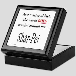 Shar Pei World Keepsake Box