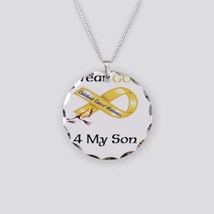 I wear Gold 4 - MY SON-1 Necklace Circle Charm