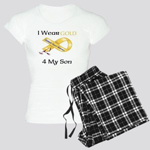 I wear Gold 4 - MY SON-1 Women's Light Pajamas