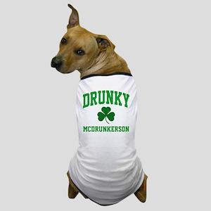 Drunky M Dog T-Shirt