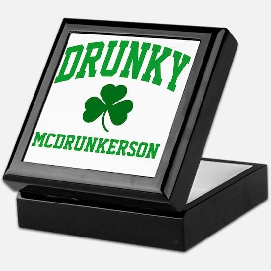 Drunky M Keepsake Box