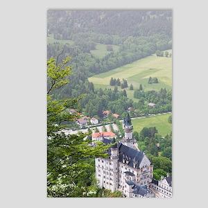 Schwangau. Neuschwanstein Postcards (Package of 8)