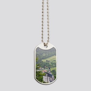 Schwangau. Neuschwanstein Castle from Teg Dog Tags