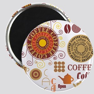 Coffee Cafe Magnets