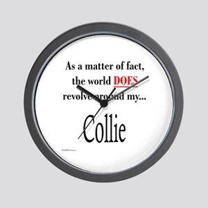 Collie World Wall Clock