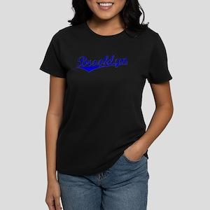Brooklyn Cursive 2 Women's Dark T-Shirt