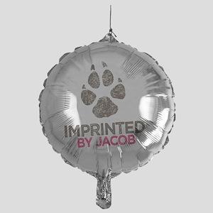 Imprinted Pink Mylar Balloon