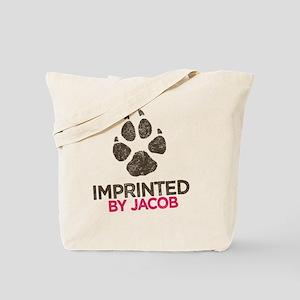 Imprinted Pink Tote Bag