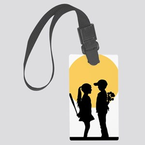lover girl2 Large Luggage Tag