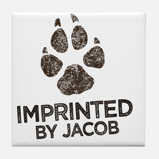 Imprinted Tile Coaster