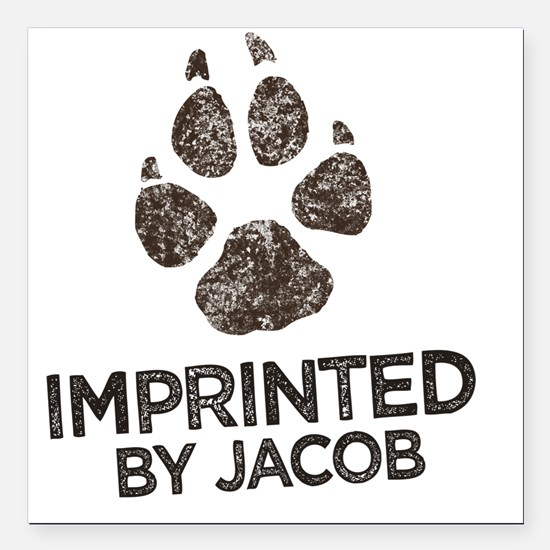 "Imprinted Square Car Magnet 3"" x 3"""