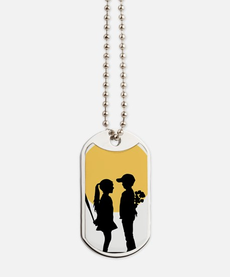lover girl3 Dog Tags
