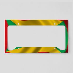 grenada_flag License Plate Holder