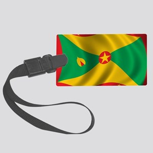 grenada_flag Large Luggage Tag