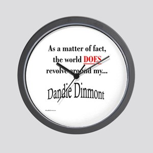 Dandie World Wall Clock