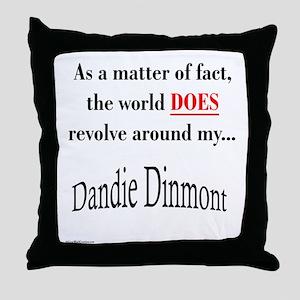 Dandie World Throw Pillow